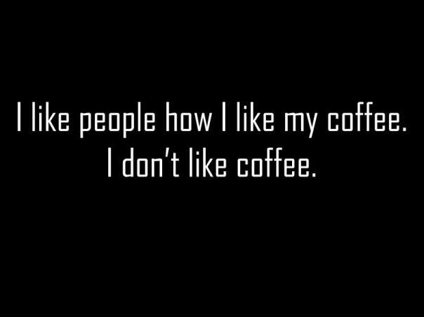 no like people