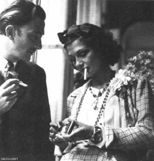 salvador dali and coco chanel